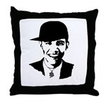 Barack Obama Bling Throw Pillow