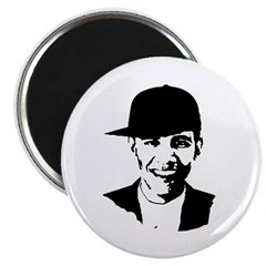 Barack Obama Hat Magnet