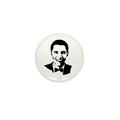 Barack Obama Bowtie Mini Button (100 pack)