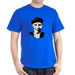 Barack Obama Beret Dark T-Shirt
