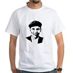 Barack Obama Beret White T-Shirt