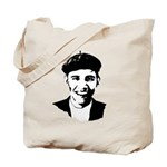 Barack Obama Beret Tote Bag