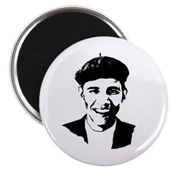 "Barack Obama Beret 2.25"" Magnet (10 pack)"