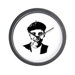 Barack Obama Beret Wall Clock