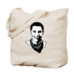 Barack Obama Bandana Tote Bag