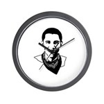 Barack Obama Bandana Wall Clock