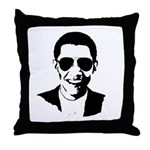 Barack Obama Sunglasses Throw Pillow
