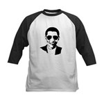 Barack Obama Sunglasses Kids Baseball Jersey