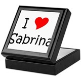 Funny Sabrina Keepsake Box