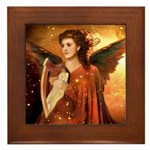 Angel #190 : Framed Tile