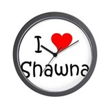 Unique Shawna Wall Clock