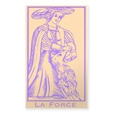 La Force, Tarot Rectangle Decal