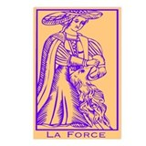 La Force, Tarot Postcards (Package of 8)