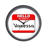 Hello my name is Vanessa Wall Clock