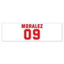 MORALEZ 09 Bumper Sticker (10 pk)