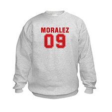 MORALEZ 09 Kids Sweatshirt