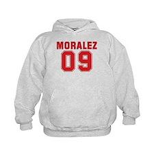 MORALEZ 09 Kids Hoodie
