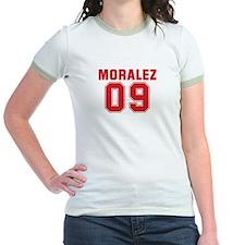 MORALEZ 09 Jr. Ringer T-Shirt