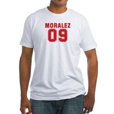 MORALEZ 09 Fitted T-Shirt