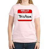 Hello my name is Triston T-Shirt