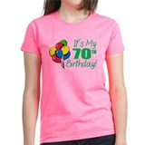 It's My 70th Birthday (Balloons) Tee