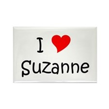 Cute Suzanne Rectangle Magnet (10 pack)