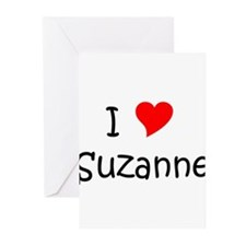 Unique Suzanne Greeting Cards (Pk of 20)