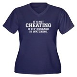 """It's not cheating if"" Women's Plus Size"
