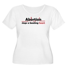 Abortion stops heart T-Shirt