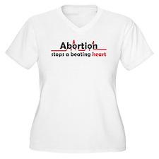 Abortion stops heart T-Shirt