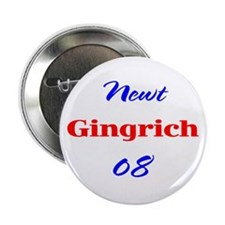 Newt Gingrich, 08, Button-2