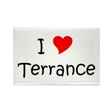 Terrance name Rectangle Magnet