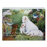 Clumber Spaniel Wall Calendar