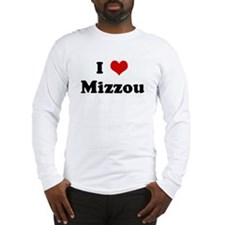 I Love Mizzou Long Sleeve T-Shirt