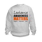 Lymphoma Matters Kids Sweatshirt