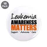 "Lymphoma Matters 3.5"" Button (10 pack)"