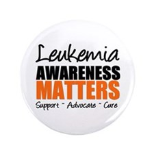 "Lymphoma Matters 3.5"" Button"