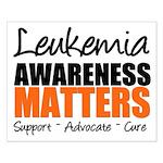 Lymphoma Matters Small Poster