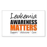 Lymphoma Matters Rectangle Sticker 10 pk)