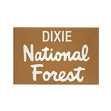 Dixie National Forest (Sign) Rectangle Magnet