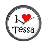 Cool Tessa Wall Clock