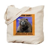 Domestic Violence Awareness Tote Bag