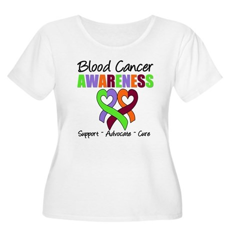 BloodCancerAwareness Women's Plus Size Scoop Neck