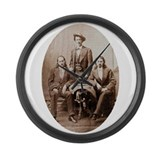 Buffalo Bill & Friends Large Wall Clock