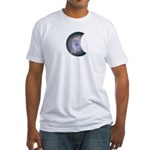 MOON DYEING  SUN DESIGN Fitted T-Shirt