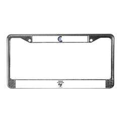MOON DYEING SUN DESIGN License Plate Frame
