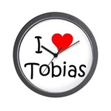 Funny Tobias Wall Clock