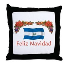 El Salvador Feliz... 2 Throw Pillow
