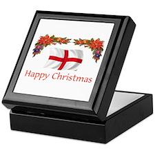 England Happy Christmas Keepsake Box