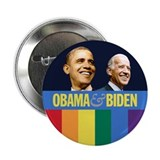 "Obama-Biden Gay Pride 13 2.25"" Button"